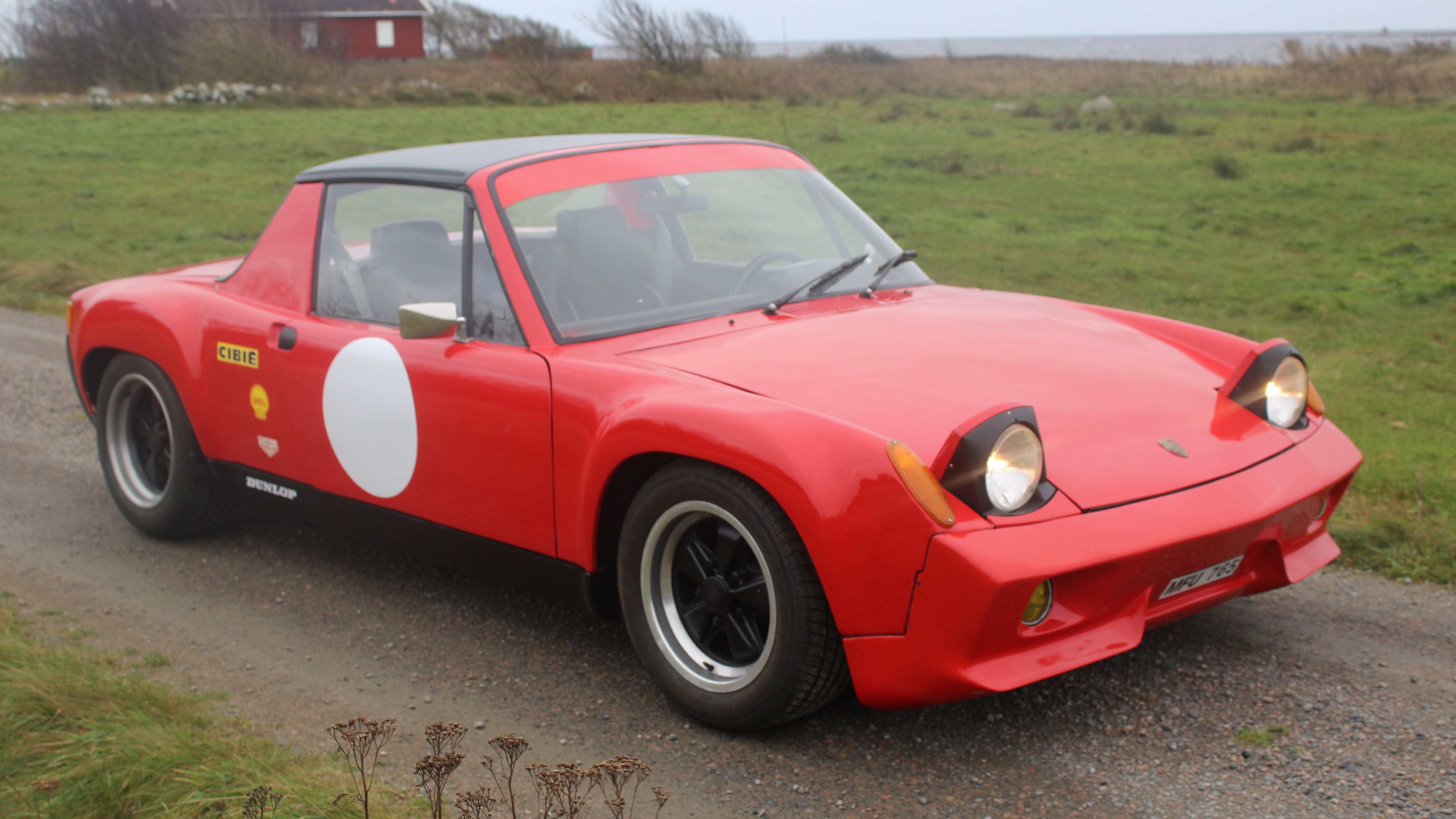 Porsche 916 Recreation1970 porsche 916 lampor fram